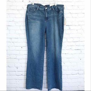 NYDJ Barbara Bootcut Jeans Stretch New Plus 18